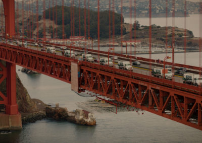 Bauman Golden Gate Bridge Volumetric Concrete