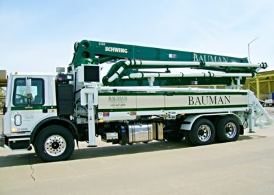 Bauman Concrete Pump Rental
